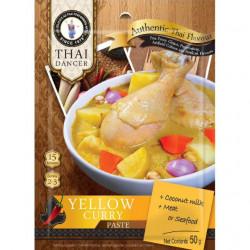 Žlutá kari pasta