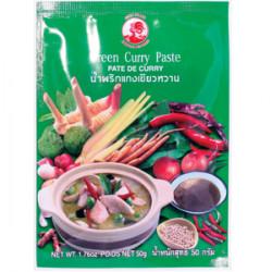 Zelená curry pasta