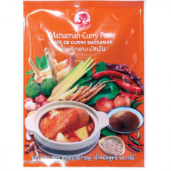 Matsaman curry pasta